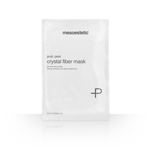 Mesoestetic post-peel crystal fiber mask