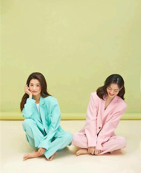 Insta Series - Girlfriends Korean Suit Set - TstudioCo
