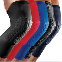 Load image into Gallery viewer, Professional Honeycomb Crashproof Knee Support Protective Sport Gear Leg Knee Pads Breathable Bandage Basketball Knee Brace
