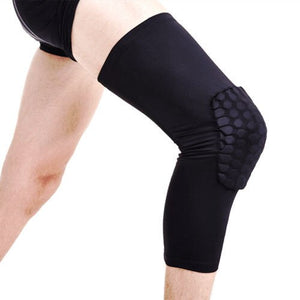 Professional Honeycomb Crashproof Knee Support Protective Sport Gear Leg Knee Pads Breathable Bandage Basketball Knee Brace