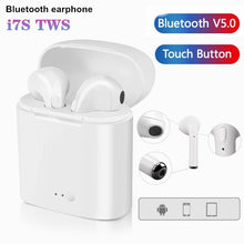 Load image into Gallery viewer, i7s Tws Wireless Earphones Bluetooth Earphones Earbuds Handsfree in Ear Headset with Charging Box Mic For All Smartphones