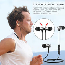 Load image into Gallery viewer, Sports Headphones Wireless Bluetooth Earphone Magnetic Stereo Bass Headset S8 Music Earphone With Microphone Portable Audio