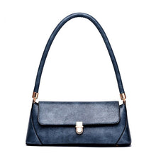 Load image into Gallery viewer, La MaxZa Baguette Ladies Handbags Famous Brand Design Women Lather Clutch Purse Phone Small Shoulder Bags Elegant Femina Blosa