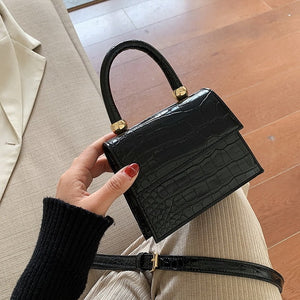 Pattern Crossbody Bags For Women 2019 Small Chain Handbag Small Bag PU Leather Hand Bag Ladies Designer Evening Bags