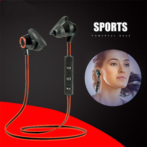 New Hifi Bluetooth Earphone Sports Neckband Magnetic Wireless Gaming Headset Stereo Earbuds Metal Earphones With Mic For IPhone