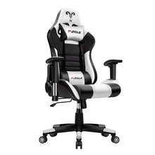 Load image into Gallery viewer, Furgle Gaming Office Chairs 180 Degree Reclining Computer Chair Comfortable Executive Computer Seating Racer Recliner PU Leather