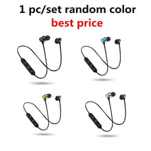 Load image into Gallery viewer, Wireless Bluetooth Earphone Sport Headset For Xiaomi For iPhone 8 X Stereo Earbuds Earphones fone de ouvido with mic