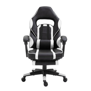 Newest Home Office Racing Gaming Office Chair Computer Desk 360 Degree Chair Adjustable Seat Desk PC Leather Chair