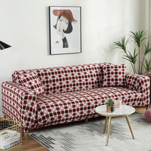 Load image into Gallery viewer, Elastic Sofa Cover Cotton All-inclusive Stretch Slipcover Couch Cover Sofa Towel Sofa Cover for Living Room copridivano 1pc