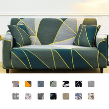 Load image into Gallery viewer, Slipcover Stretch Sofa Cover Leaves Print All-inclusive Couch Cover Different Shape Sofa Loveseat Chair L-Style Need 2 Sofa Case