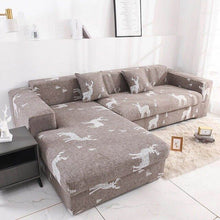 Load image into Gallery viewer, sofa cover for Living room L-shaped sofa cover spandex stretch sofa cover universal sofa cover simple fabric furniture cover