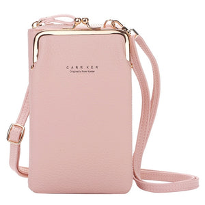 Women Wallet Large Capacity Mobile Phone Bag Card Slot Adjustable Shoulder Strap Shoulder Bag Women Hand Bag Woman Ladies Bags#s