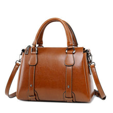 Load image into Gallery viewer, Want Go New Vintage Women Split Leather Handbag  Female Real Lather Tote Bag Fashion Lady Party Handbag Hot Sale Crossbody Bags