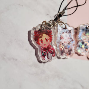 Demon Slayer Hanging Kittens (1 INCH)