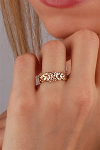 Rose Puzzle Ring ZOOM