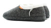 Archline Orthotic Slippers Closed – Grey Marl