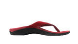 Axign Premium Orthotic Flip Flops – Red
