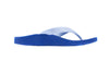 Archline Kids Orthotic Flip Flops – Blue/White