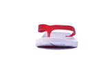 Archline Balance Orthotic Flip Flops - White/Red