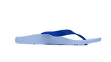 Archline Kids Orthotic Flip Flops – White/Blue