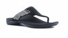 Alexa Orthotic Flip Flops - Black