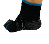 Running Socks Blue/Black