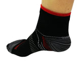 Running Socks Red/Black