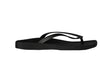 Archline Breeze Orthotic Flip Flops – Black/Black