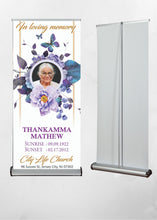 Load image into Gallery viewer, Trade Show Banner Stands - 24 Hours Printing