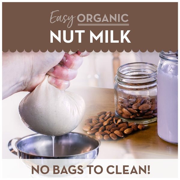 nut milk straining cloth reusable