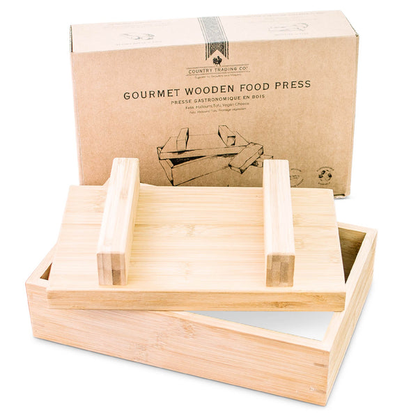 wooden cheese press tofu press