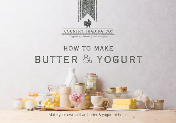 Butter and Yogurt Making Recipe Book