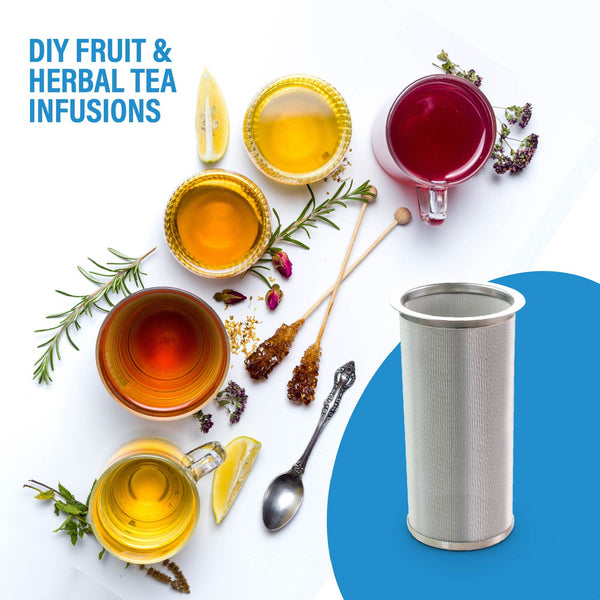 infuser for fruit water and herb tea