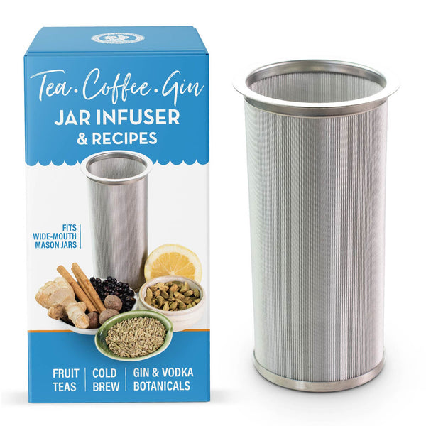 stainless steel infuser for mason jar