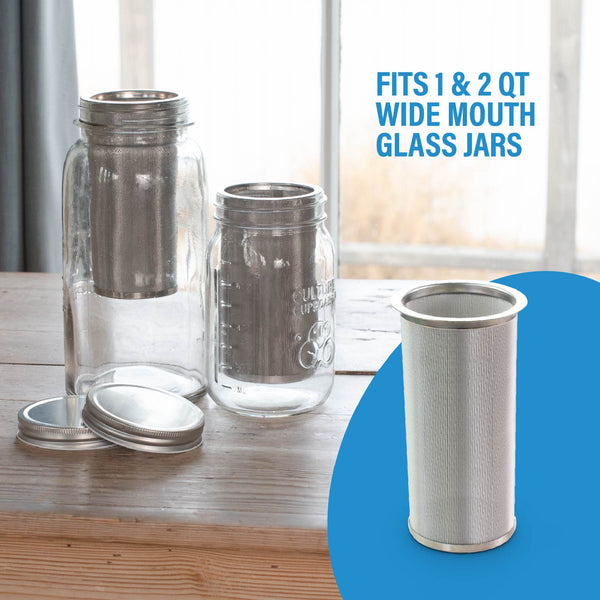 infuser for wide mouth mason jars