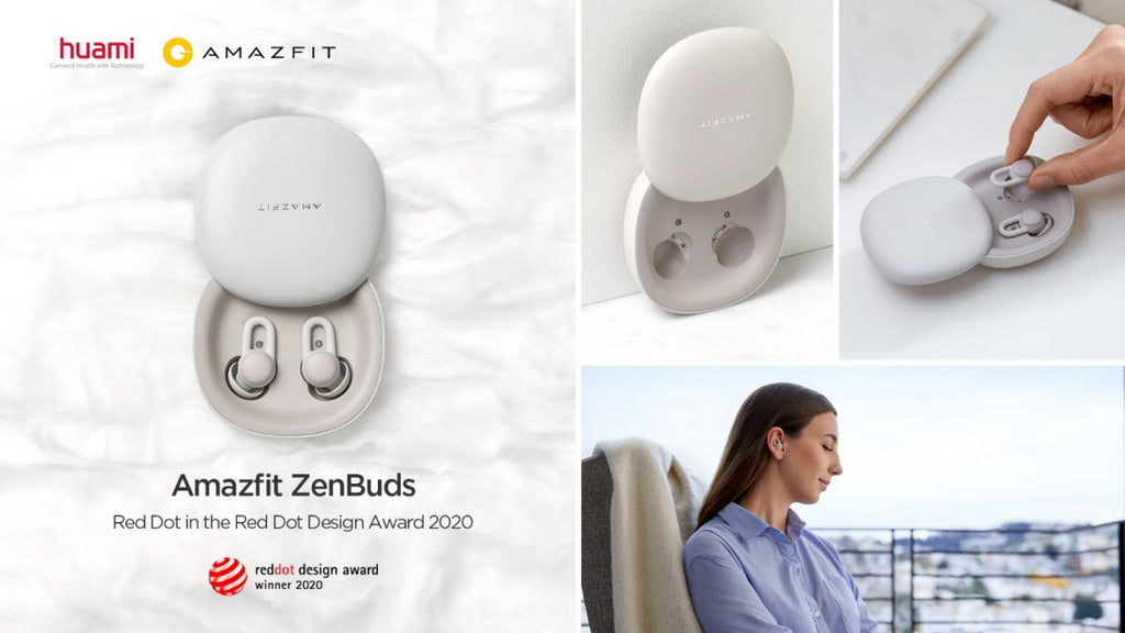 Red Dot Award Winner Amazfit ZenBuds with Noise-blocking In-ear Design, Soothing Sounds and Smart Sleep Monitoring Started Crowdfunding on June 30.