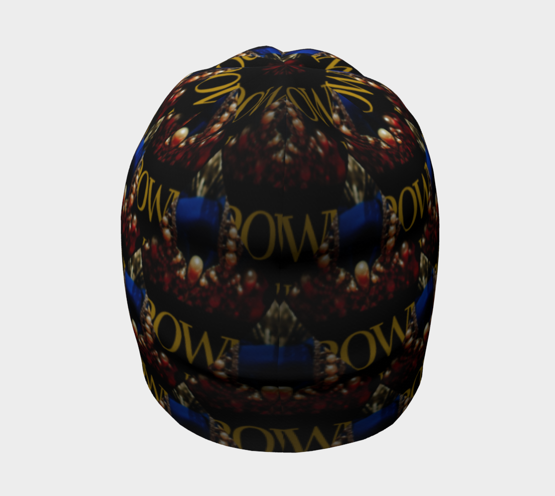 KQROWN'D APPAREL - DURAG & GRILLZ EDITION Beanie 4