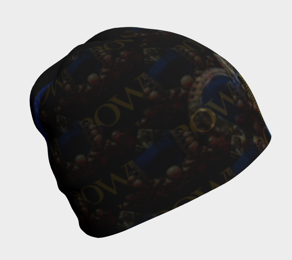 KQROWN'D APPAREL - DURAG & GRILLZ EDITION Beanie 1