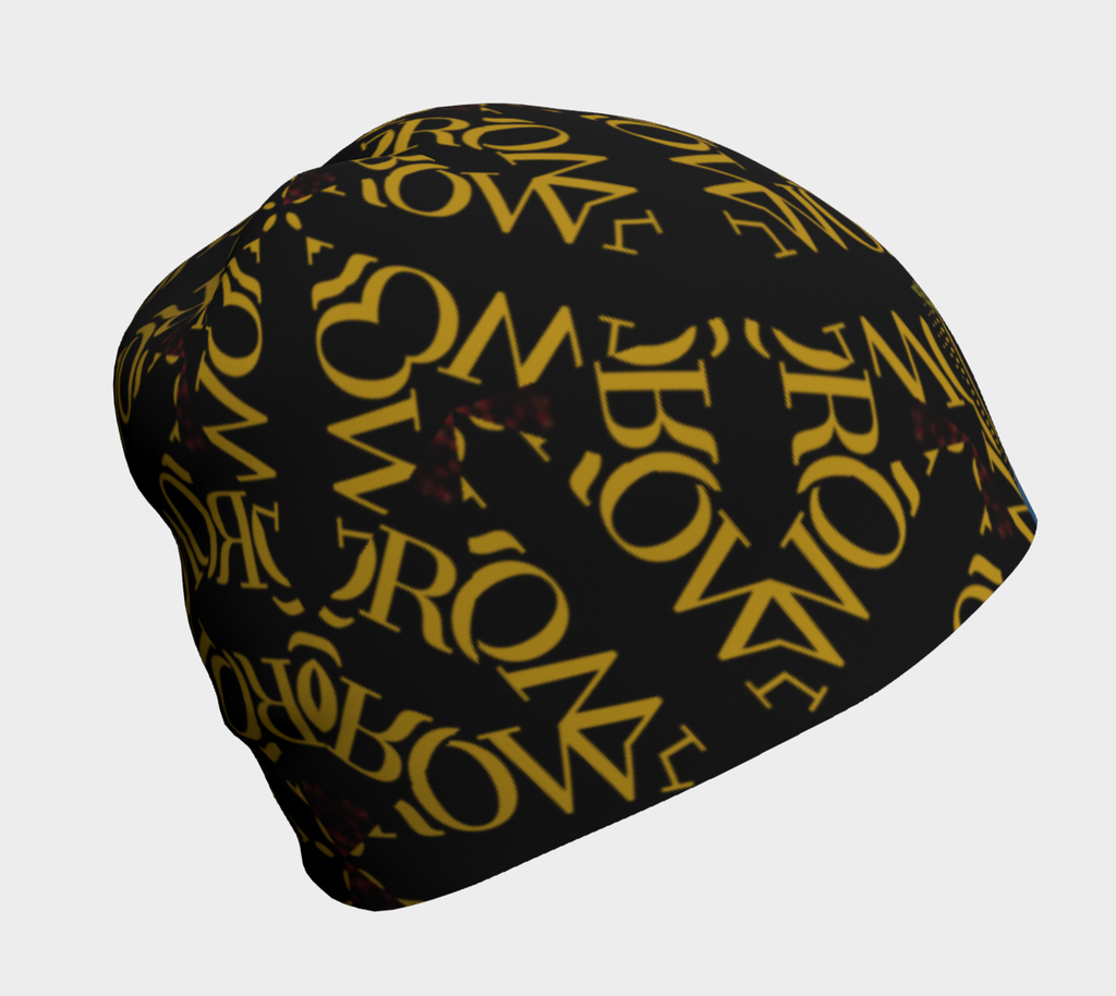KQROWN'D APPAREL - DURAG & GRILLZ EDITION Beanie 2