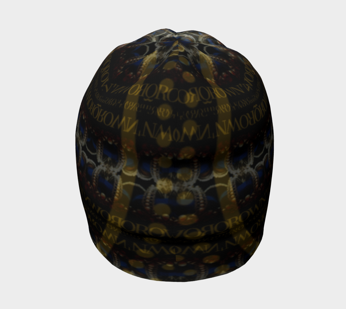 KQROWN'D APPAREL - MASKED QUEEN EDITION Beanie 4