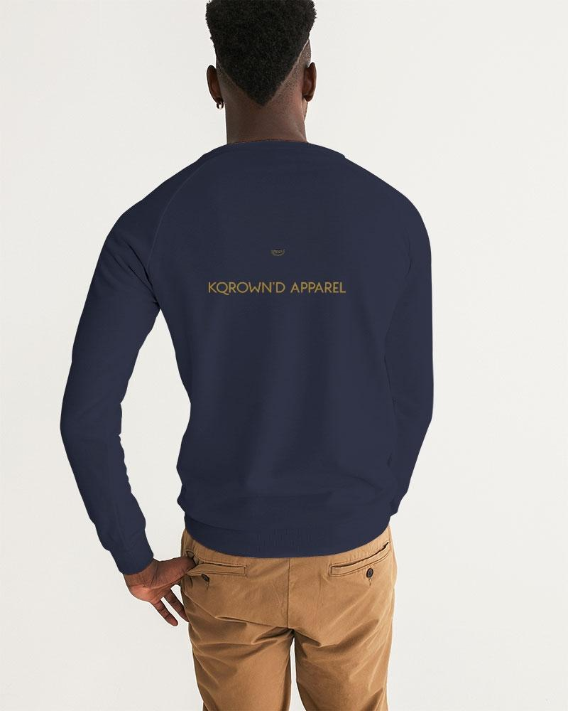 KQROWN APPAREL - BARBERSHOP Edition Men's Graphic Sweatshirt - KQROWN'D APPAREL