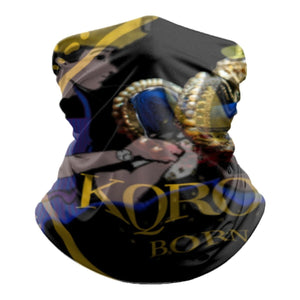 KQROWN'D APPAREL - BARBER SHOP Edition -Tube Scarf - KQROWN'D APPAREL