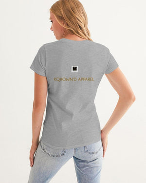 KQROWN'D APPAREL - CHARMED Edition Women's Graphic Tee - KQROWN'D APPAREL
