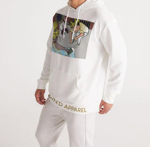 KQROWN'D Apparel - KQNGS SHOOTING DICE Edition Men's Hoodie - KQROWN'D APPAREL