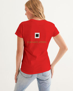 KQROWN'D Apparel - KQNGS SHOOTING DICE Edition Women's Graphic Tee - KQROWN'D APPAREL