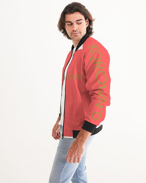 KQROWN'D Apparel - LOGO Edition Men's Bomber Jacket - KQROWN'D APPAREL