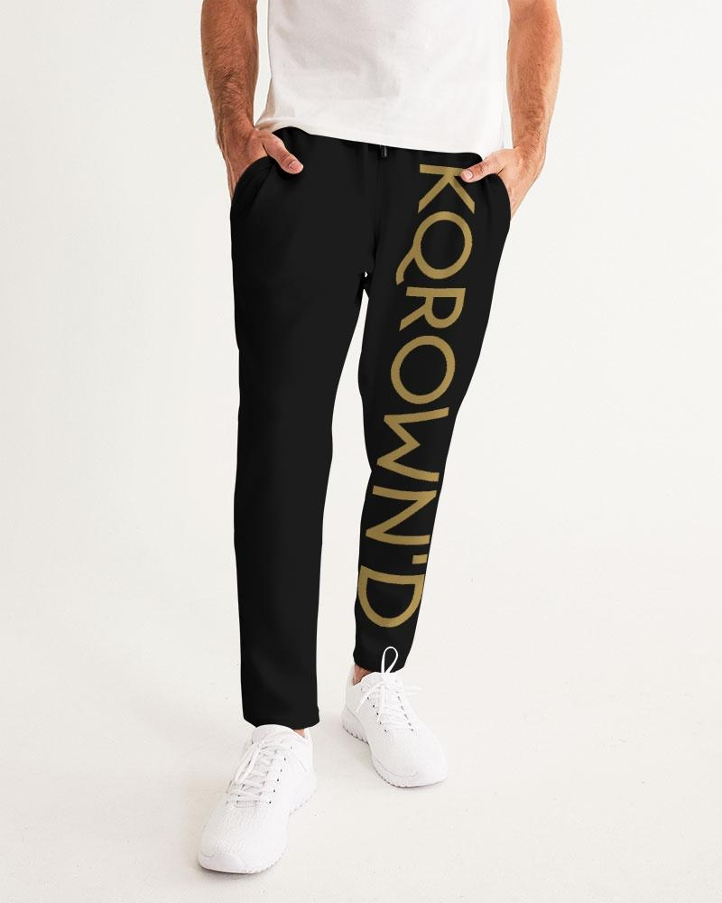 KQROWN'D Apparel - LOGO Edition Men's Joggers - KQROWN'D APPAREL
