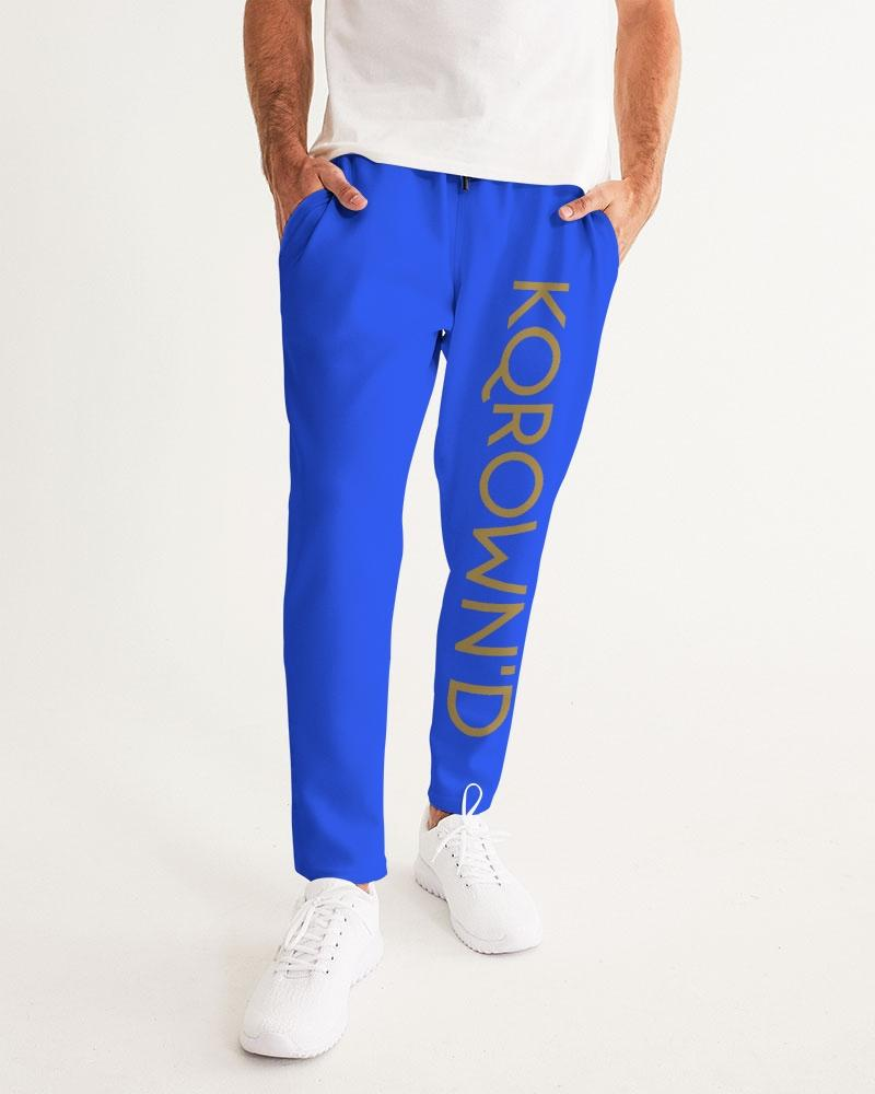 KQROWN'D APPAREL- LOGO Edition Men's Joggers - KQROWN'D APPAREL