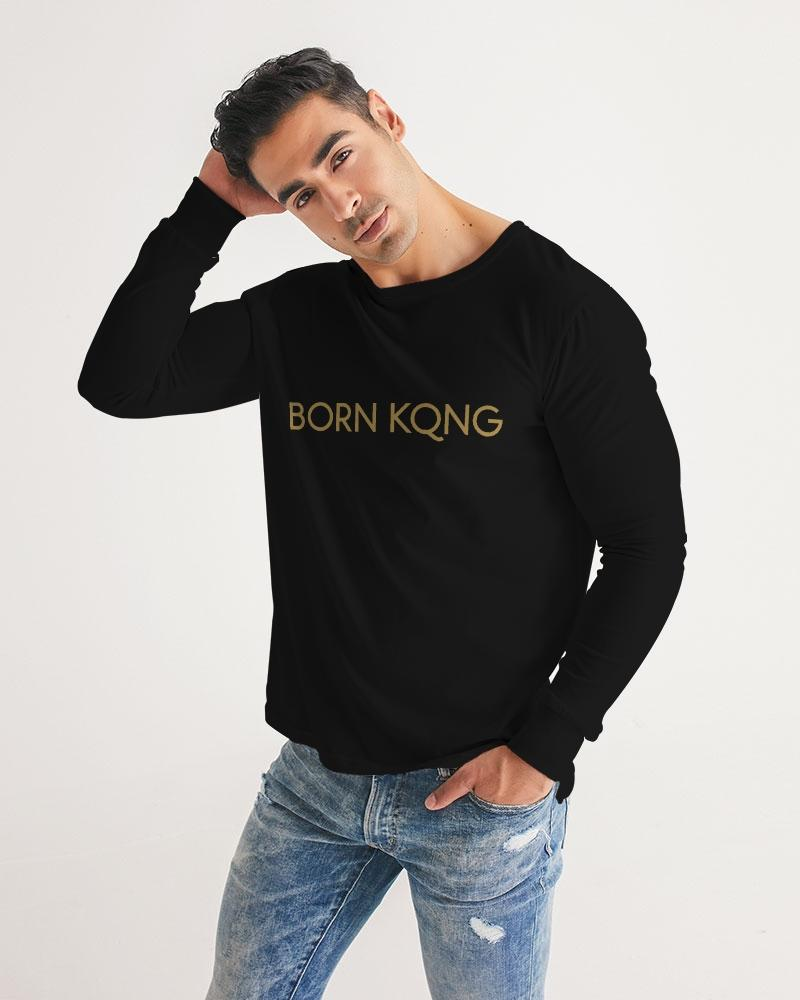 KQROWN'D Apparel - LOGO Edition Men's Long Sleeve Tee - KQROWN'D APPAREL