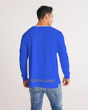 KQROWN'D APPAREL- LOGO Edition Men's Long Sleeve Tee - KQROWN'D APPAREL